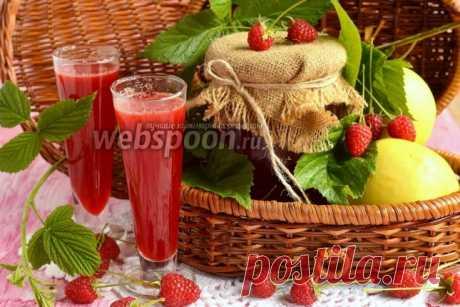 Яблочно-малиновый сок на зиму рецепт с фото, как приготовить на Webspoon.ru