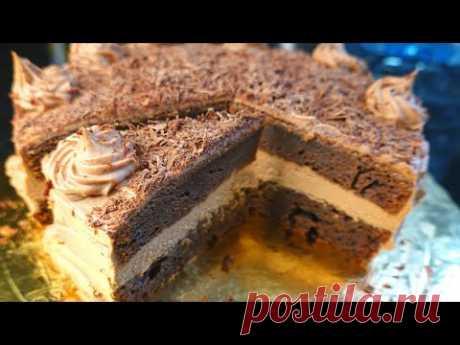 Шоколадный торт без возни на Новый год // Новогодний торт