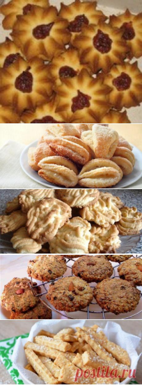 Печенье на скорую руку в духовке -простые и быстрые рецепты