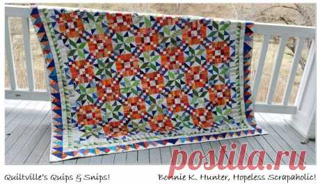Quiltville's Quips & Snips !!: Dobrý Fortune Mystery-THE REVEAL!