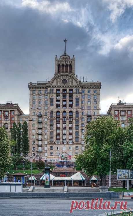 Soviet architecture - Khreschatik, Kiev  |  Pinterest • Всемирный каталог идей