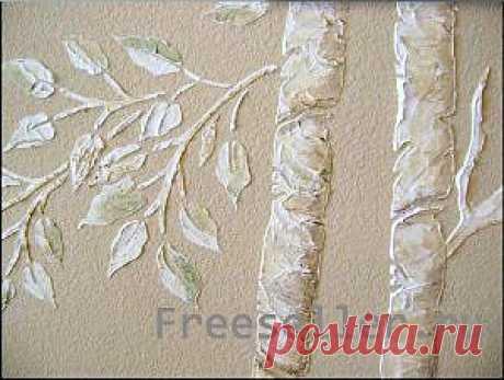 (+1) тема - 3D дерево на стене | МАСТЕРА
