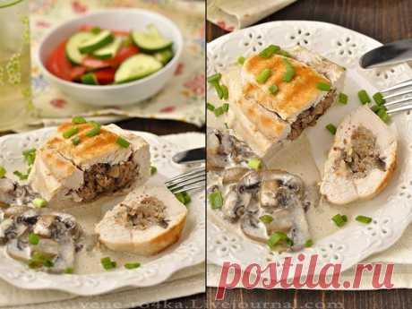 Курица, грибы, гречка — это классика кулинарии! — Вкусные рецепты