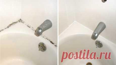 Копеечное средство для удаления плесени в ванной. Чистота на грани фантастики! — Полезные советы