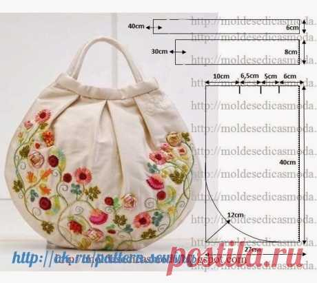 Selection of patterns of summer bags