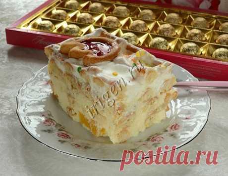 Торт Снегурочка