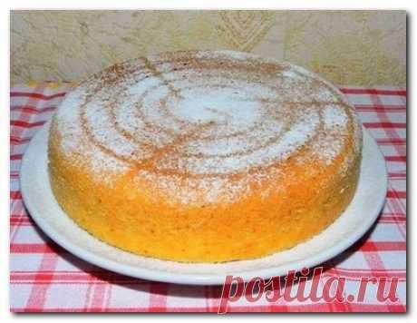 Сметанный пирог в мультиварке - пошаговый рецепт | Мультиварик.Ру