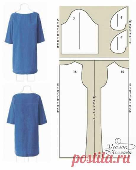Dresses. Patterns \ud83d\udc57\u000d\u000aExcellent idea for needlewomen