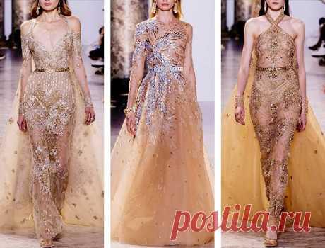 Elie Saab Spring/Summer 2017 Haute Couture / Модное Настроение