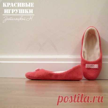 Мастер класс по пошиву тапочек Затинацкой Натальи