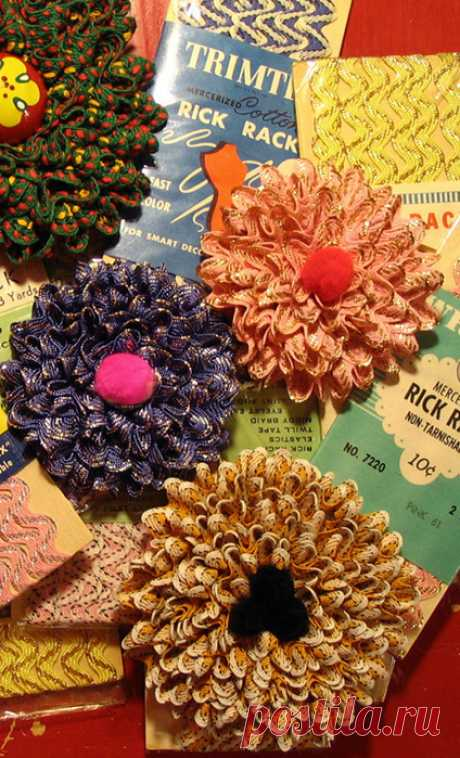 Цветочки из леНт и не только... | Записи в рубрике Цветочки из леНт и не только... | Дневник Сахарина