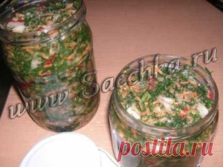 Зеленая заправка для супов | Saechka.Ru - рецепты с фото