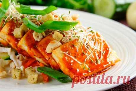 Сырный салат с тофу – пошаговый рецепт с фото.