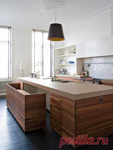 Модно и функционально: 5 «умных» идей, как расположить остров на маленькой кухне | Мой дом