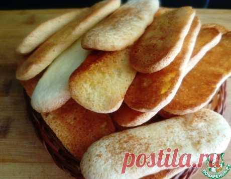 Бисквитное печенье – кулинарный рецепт