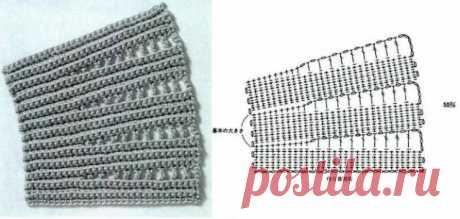 Крючок - узоры для вязаной юбки: большая подборка схем - Ladiesvenue.ru Незаменимая вещь в гардеробе модницы - в зависимости от того какие узоры для вязаной юбки вы используете - может быть ажурной или плотной - на холодное время года.