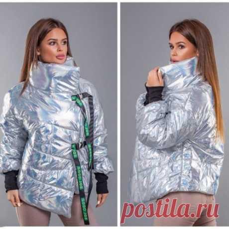 Куртка ткань голограмма с доставкой недорого