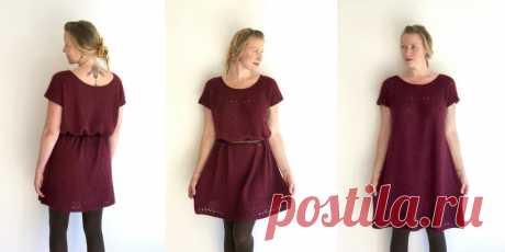 Платье с круглой кокеткой Lola - Вяжи.ру
