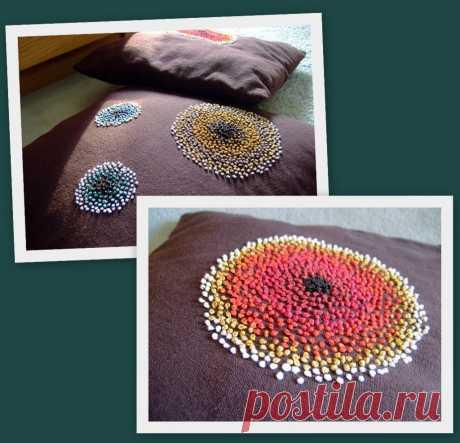 Фактура с узелками Модная одежда и дизайн интерьера своими руками