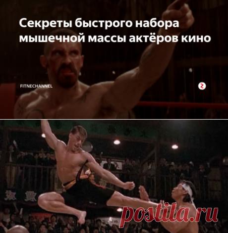 Секреты быстрого набора мышечной массы актёров кино | fitnechannel | Яндекс Дзен