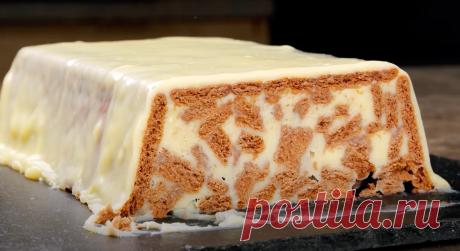 Торт «Белые ночи» без выпечки всего из 4 ингредиентов | sm-news.ru