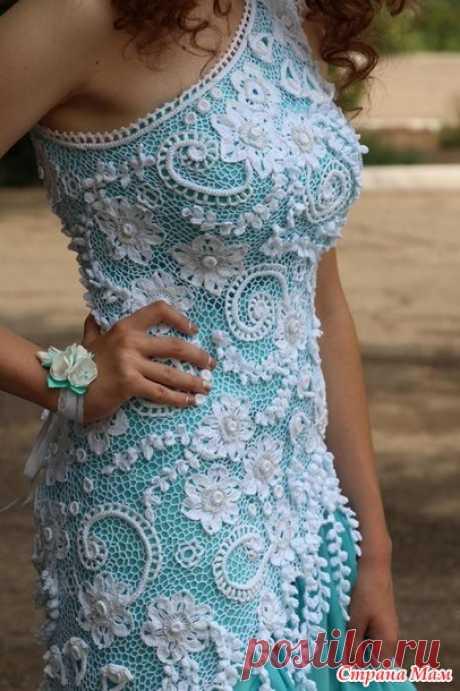 Выпускное платье для дочери - Вязание - Страна Мам