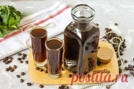 Кофейный ликер в домашних условиях - пошаговый рецепт с фото на Повар.ру