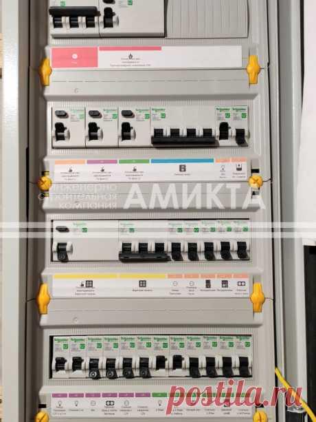 "Монтаж электрики ""под ключ"" - сборка и монтаж распределительного щита. Еще электрика под ключ тут - https://amikta.ru/elektrika/"