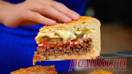 Мясной пирог «Чизбургер»