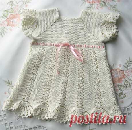 Крестильное платьице для Викуси. МК Мое рукоделие