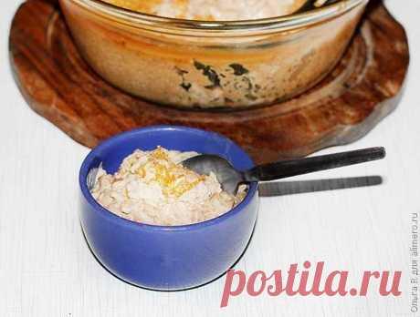 Пряный восточный рисовый десерт