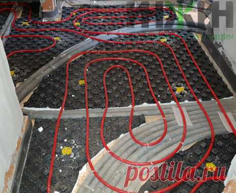 Монтаж отопления в доме из кирпича, фото 791