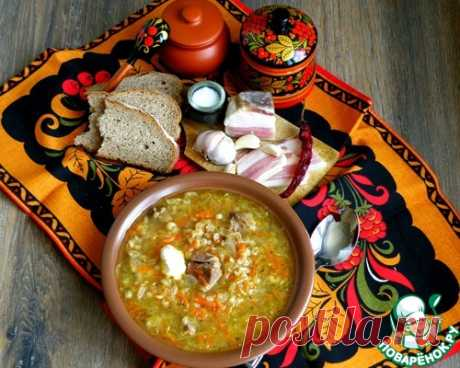 Russian cabbage soup Ural in the crock-pot - the culinary recipe
