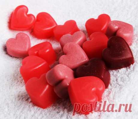 Cocemos el jabón por las manos - la clase maestra de Подарки.ру