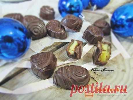 Шоколадные конфеты с персиковым муссом | Foodbook.su Предлагаю приготовить вот такие шоколадные конфеты. Они удивят вас своим вкусом, ароматом и нежно-воздушной консистенцией персикового мусса.