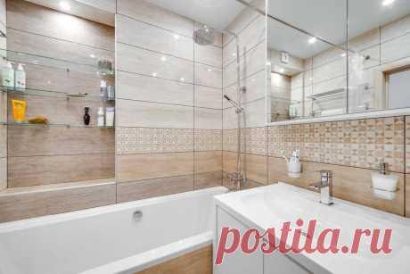 Как сделать маленькую ванную удобной, красивой и современной: самые свежие идеи — Roomble.com