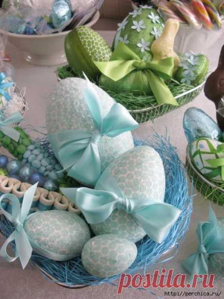 Пасхальные яйца своими руками - как правильно и чем красить