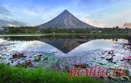 Вулкан Майон, Филиппины. Автор фото – Глеб Шабашный: