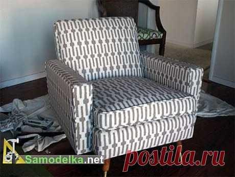 Как сделать новую обивку на старом кресле / Дом, мебель, интерьер... / Самоделка.net - Сделай сам своими руками | Самоделки. Полезные советы и рекомендации домашнему умельцу