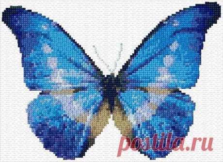 Вышиваем бабочек и не только....