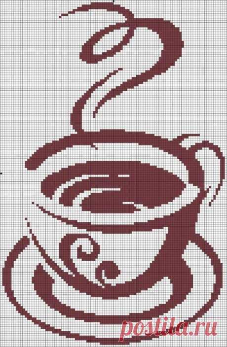«чашка ароматного кофе -схема» — карточка пользователя yasavchencko в Яндекс.Коллекциях