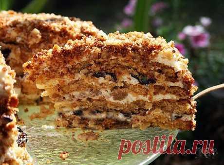 Cake Little squirrel. - Simple recipes of Овкусе.ру