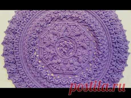 crochet mandala doily #15/crochet home rug