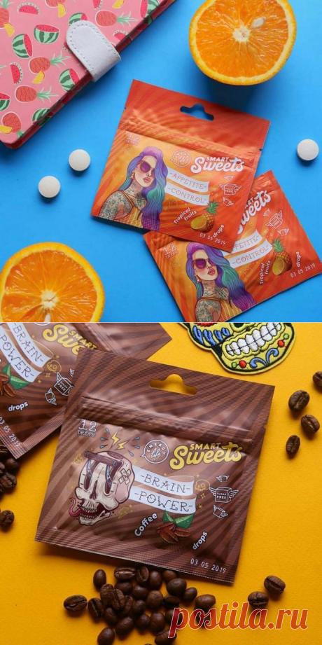 Энергетическая жвачка и функциональные конфеты Smart Sweets | nlstars