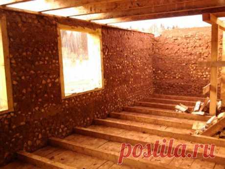 Es ecológico la casa pura — de la arcilla y la leña — 6 sotok