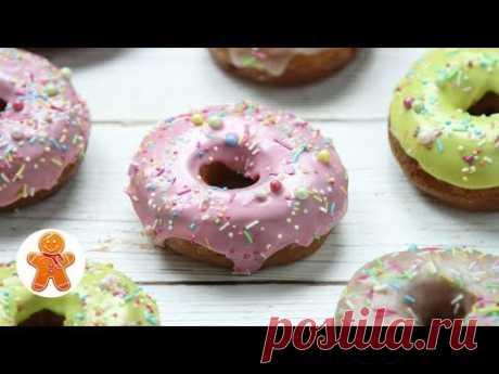 Американские пончики Донатс с глазурью ✧ Donuts