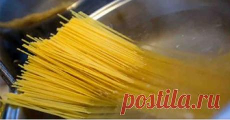 Итальянские секреты. Почему не нужно выливать воду, в которой варились макароны? Вот, оказывается, какая штука! И правда, не стоит выливать.