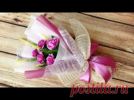 ABC TV | How To Make Paper Flower Bouquet #1 - Craft Tutorial