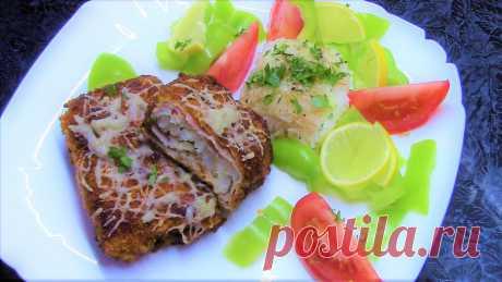 """Нежное, ароматное, сочное и очень вкусное блюдо из рыбы """"Рыба В беконе""""."""