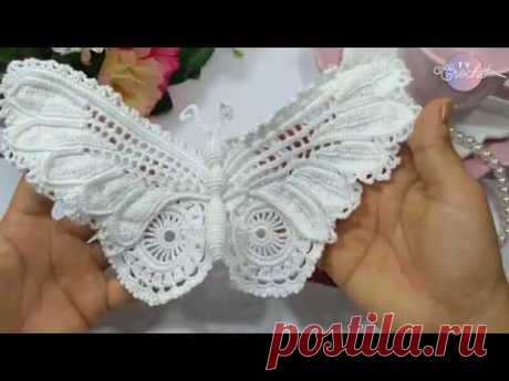 Irish Crochet Lace Butterfly !!!